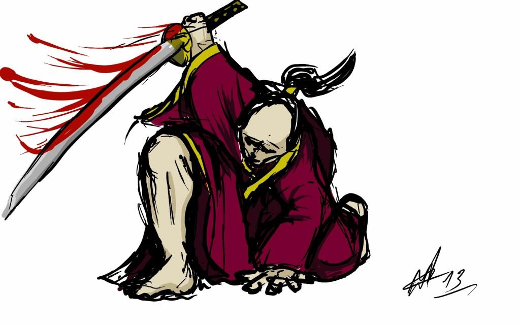 Fast & Lose Samurai sketch